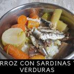 Arroz con Sardinas y Verduras