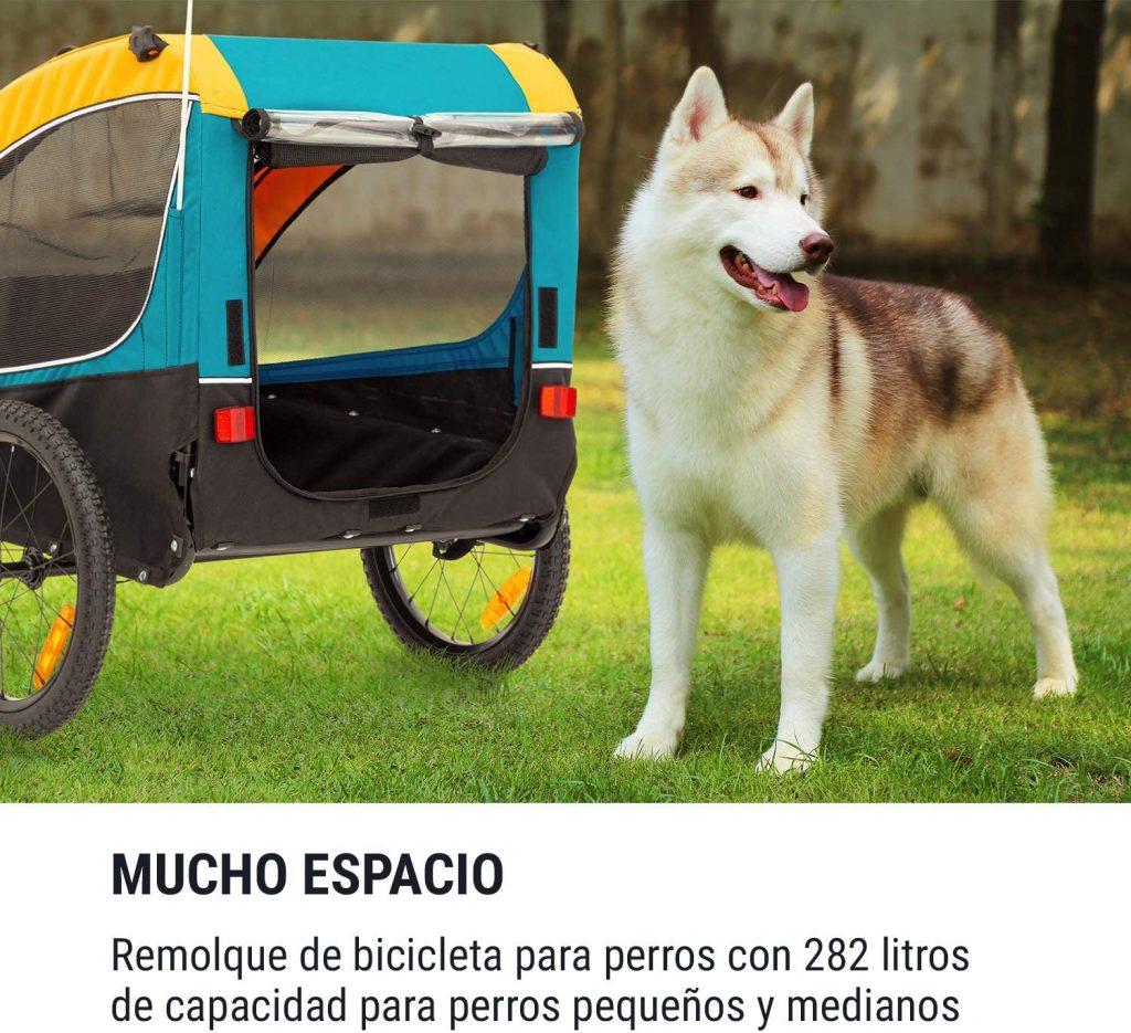 Remolque de Bicicleta para Perros