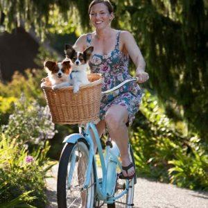 Salir en bici con tu perro